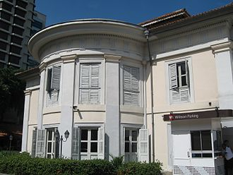 George Drumgoole Coleman - Caldwell House, one of the few surviving buildings designed by Coleman in Singapore