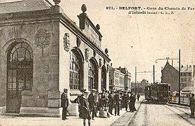 CLB 971 - BELFORT - Gare du Chemin de fer d'intéret local.JPG