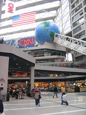 The World of Sid and Marty Krofft - The CNN Center (formerly the Omni complex) as it appears today