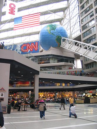 CNN Center - Interior view