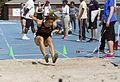 CNU Captains Classic Track and Field meet long jump Williams and Mary (17192294901).jpg
