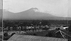 Banyuwangi Regency - View of Banyuwangi during colonial period.