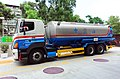 CPC HINO 700 Tank Rigid Truck Supplying Minsheng East Road Petrol Station 20160530b.jpg