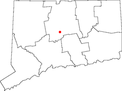Location within the state of Connecticut