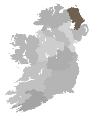Diocese of Connor (Church of Ireland) - Diocese Highlighted