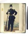 Caçador a pé, Grande uniforme (NYPL b14896507-83972).tiff