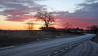 A696 road major road in Northern England