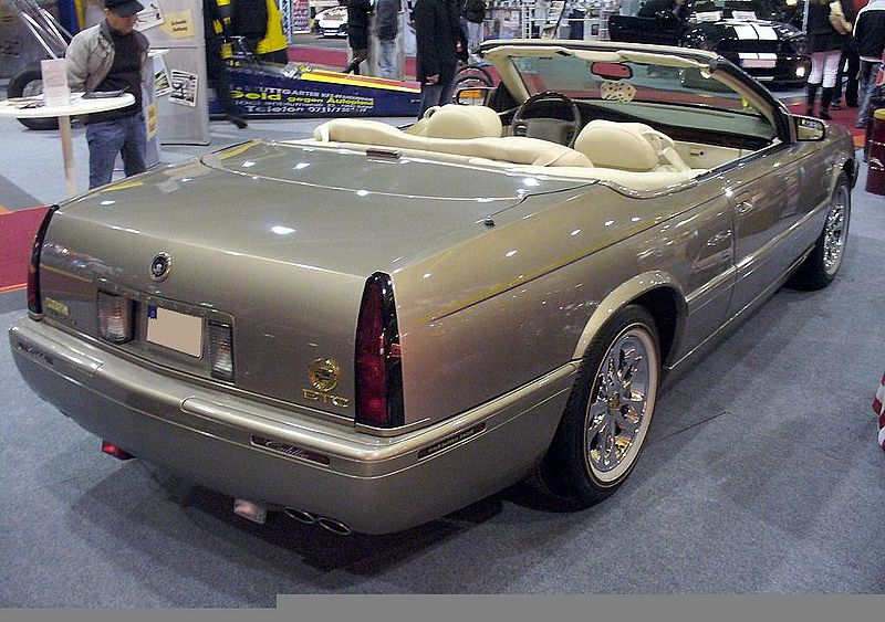 Re Looking For Information On The 1995 Convertible El Dorado