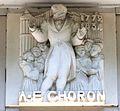 Caen hôtel Malherbe bas-relief Choron.JPG