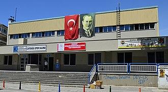 Bahçeşehir Koleji S.K. - The Caferağa Sports Hall, home arena of the club