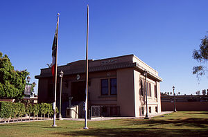 Calexico, California - The Old Calexico City Hall in 2007