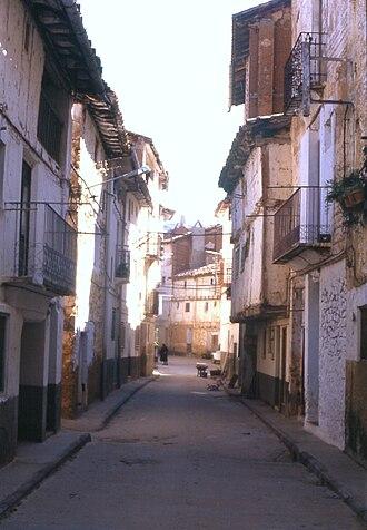 Casas Bajas - Casas Bajas, Calle del Paso in 1987