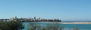 Caloundra - Panoramic view of Caloundra