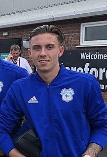 Cameron Coxe Welsh footballer