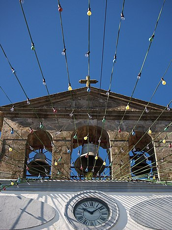 Campanario iglesia vega san mateo gran canaria