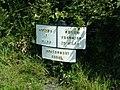 Canal distance signboard - geograph.org.uk - 95662.jpg