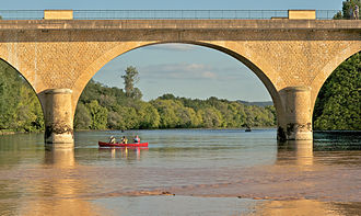 Dordogne (river) - Canoeing on the Dordogne