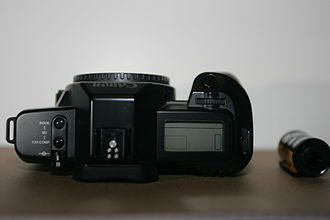 Canon EOS RT - Top view