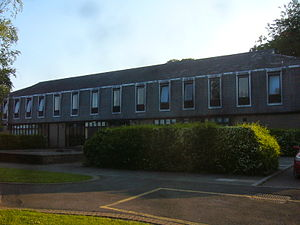 University of Wales Trinity Saint David - The second Canterbury Building (1973–2012).