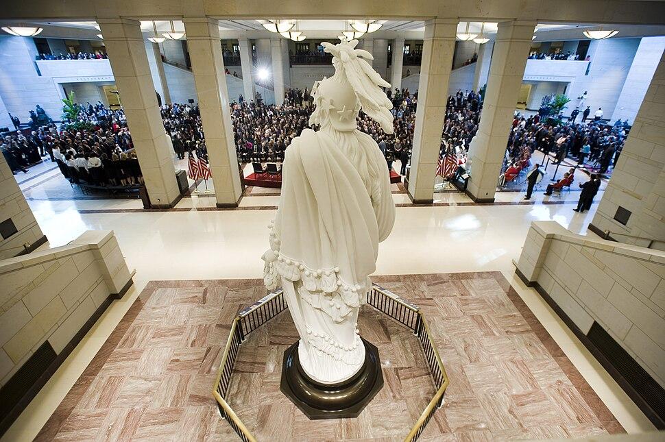 Capitol Visitor Center opening ceremonies 2