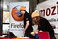 Capitole du libre 2012 - Stand Mozilla, bonnet inside.jpg