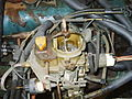 Carburetor two-barrel Carter BBD on 258 AMC engine.jpg