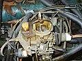 Carburetor two-barrel Carter BBD on 258 AMC engine.jpg