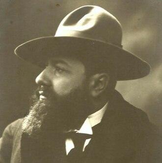 Carl Hollitzer - Carl Hollitzer around 1908