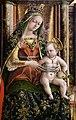 Carlo crivelli, madonna della rondine, post 1490, da s. francesco a matelica, 05.jpg
