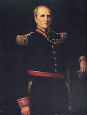 Carlos Soublette - Portrait by Martín Tovar y Tovar