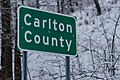 Carlton County, Minnesota - County Line Sign (44719893600).jpg