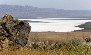 Carrizo Plain - Soda Lake, view to southeast