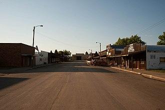 Carson, North Dakota - Business District of Carson