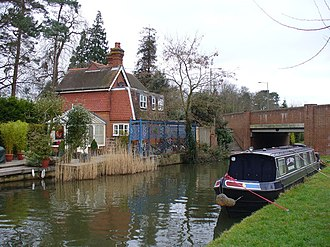 Send, Surrey - The Cartbridge and the River Wey