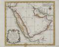 Carte de la Coste d'Arabie, Mer Rouge, et Golfe de Perse, Eliminate background.png