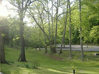 Carter Caves State Resort Park - Image: Carter Caves roadway