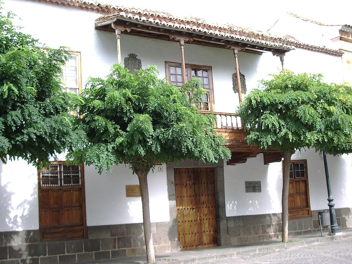 Casa museo de los patronos de la virgen wikipedia la - Casas de madera gran canaria ...