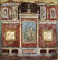 Casa della farnesina, parete del cubicolo B, 30-20 a.c.jpg