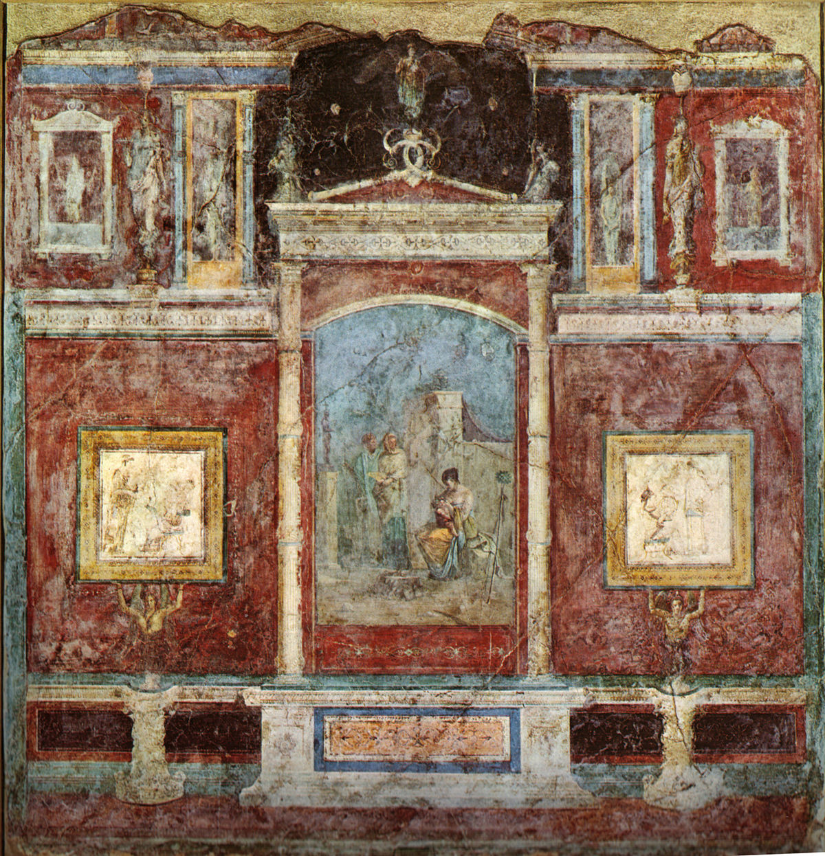 Casa della farnesina wikipedia - Arte della casa ...