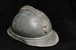 Adrian helmet - French infantry M15 Adrian helmet