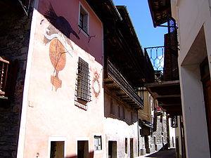Casteldelfino - Image: Casteldelfino