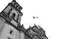 Catedral y bandera Zócalo D.F..jpg