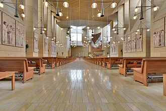 Cathedral of Our Lady of the Angels (Los Angeles) - View of seating in the southern transept