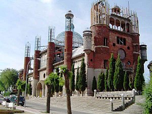 Outsider art - Cathedral of Justo Gallego in 2005