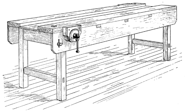 cc&j-fig26--ordinary joiner's bench with instantaneous vice.png