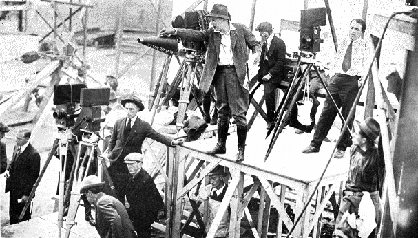 Cecil b de mille directing