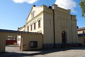Umeå Old Prison - The Old Prison in Umeå, seen from Storgatan.