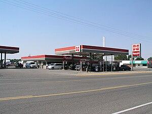 CHS Inc. - Cenex gas station in Miles City, Montana.