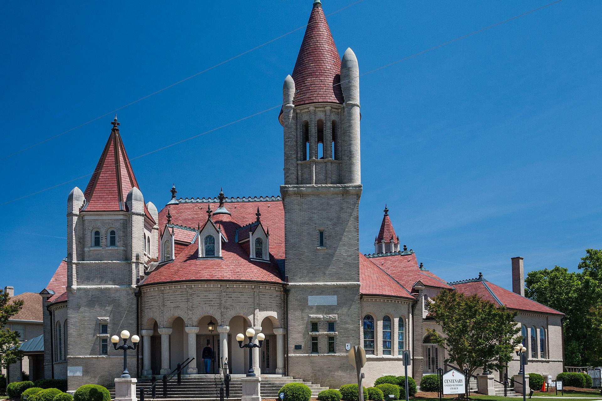 Centenary Methodist Church New Bern North Carolina