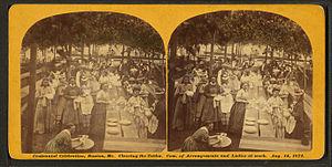 Buxton, Maine - Centennial celebration, Buxton, Maine, Aug. 14, 1872